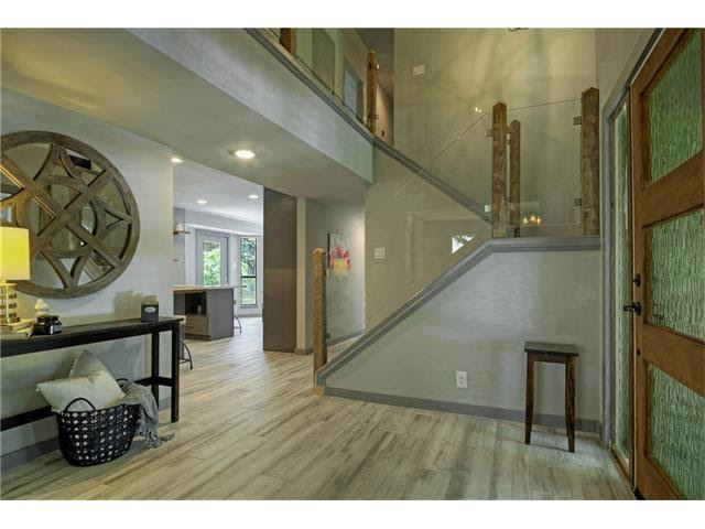 Interior Design Austin - Before and After Entrance