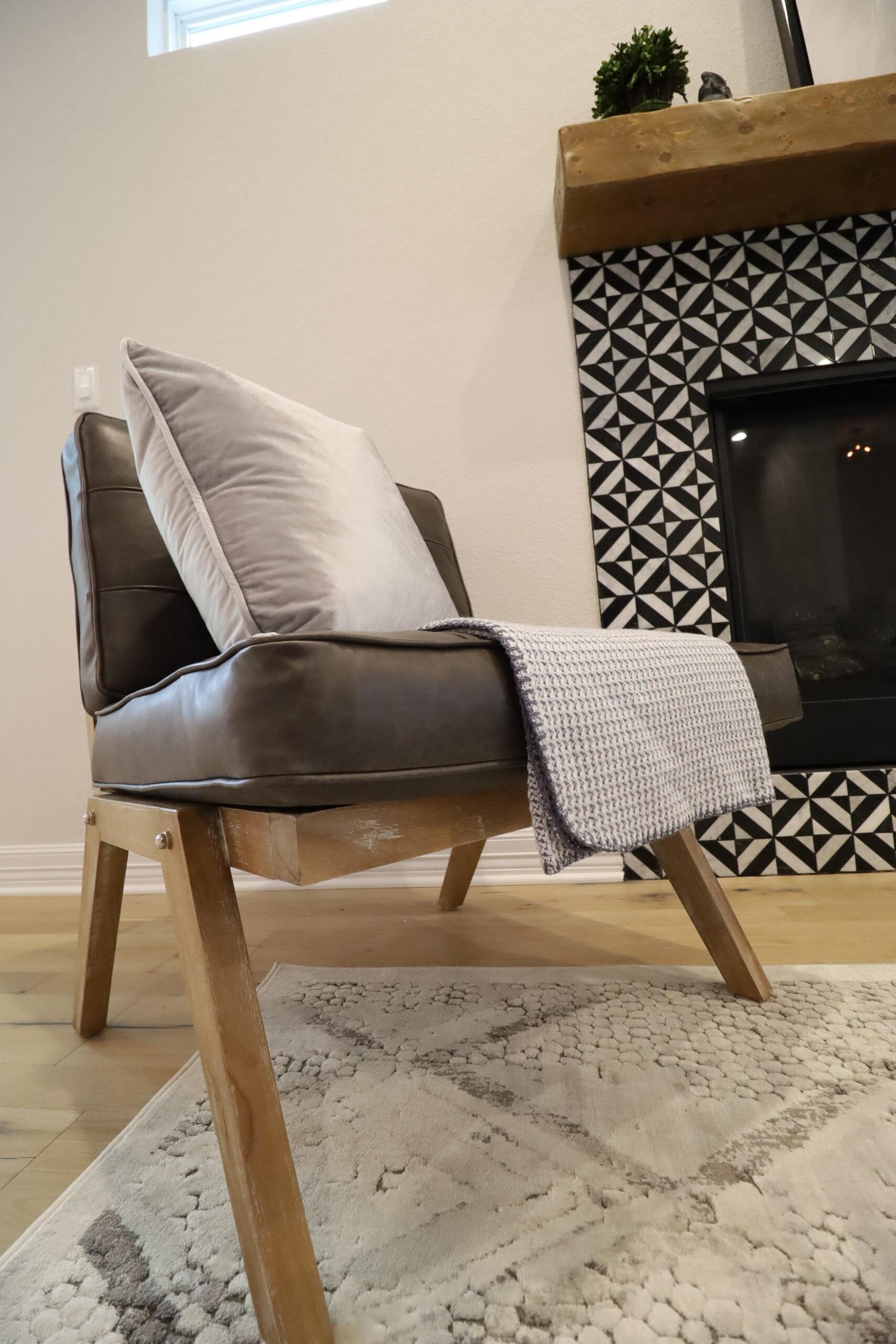 Accent Chair, Fireside